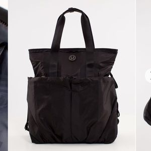Lululemon Flow and Go Tote